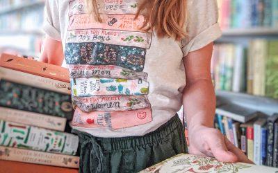 New Bookstack Tee: Louisa May Alcott, Little Women
