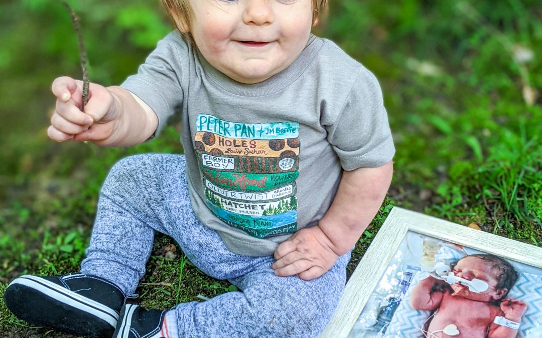 My Baby is One! So Here's a Long-Winded Story