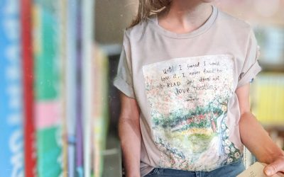 Reading is Breathing: May Exclusive Tee and Bundles