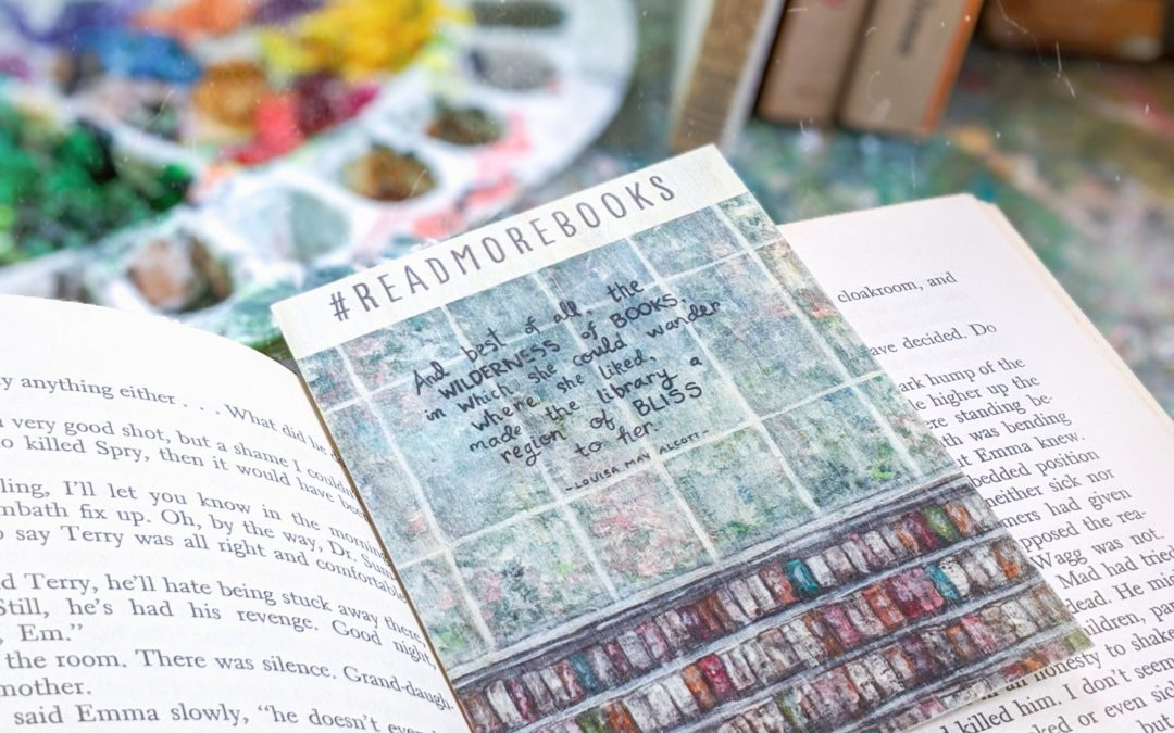 Sweet Squares – Woodmarks to Motivate us in our Bookish Endeavors
