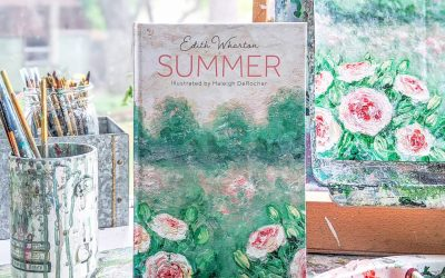 I illustrated a book! Summer by Edith Wharton